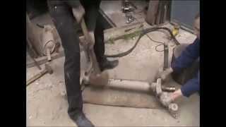 Citroen Berlingo ремонт балки Киев