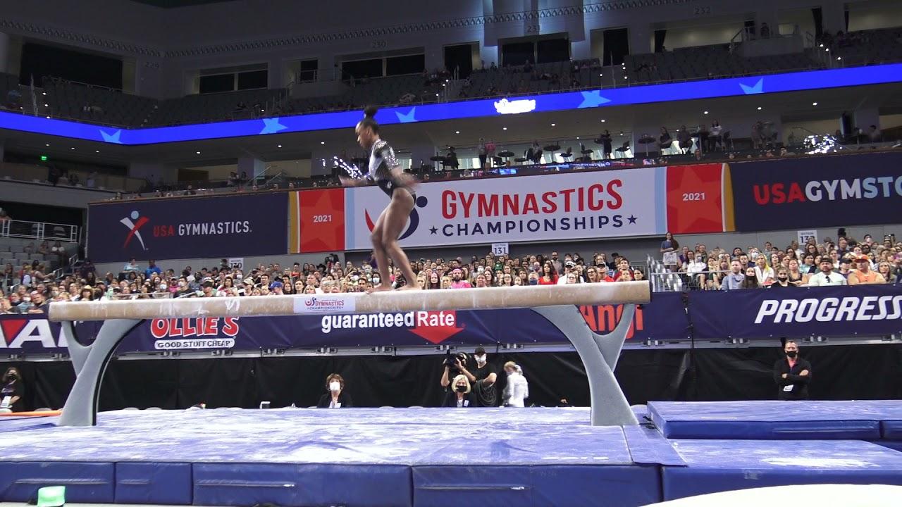 Zoe Miller - Balance Beam - 2021 U.S. Gymnastics Championships - Senior Women Day 2