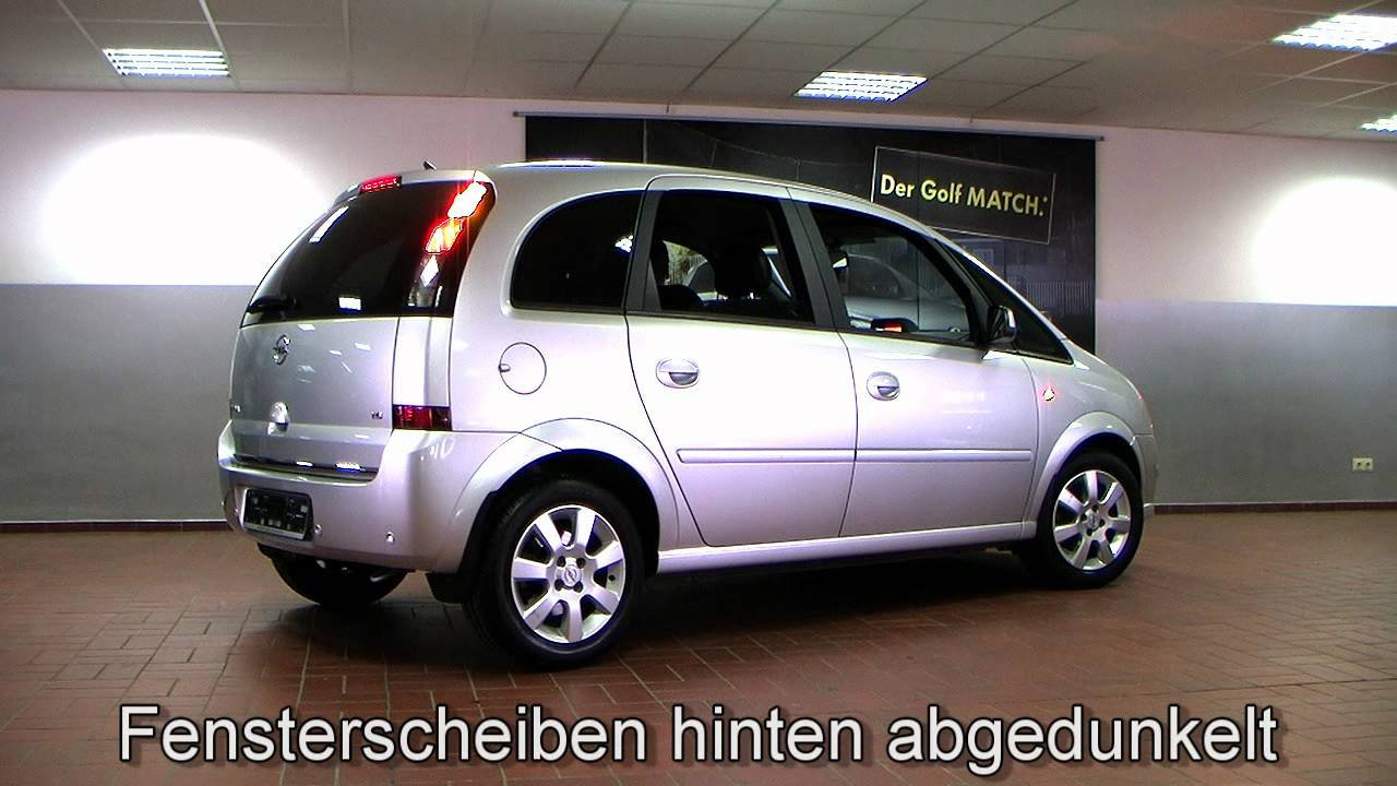 opel meriva cosmo easytronic 2007 starsilber metallic 74238552 youtube. Black Bedroom Furniture Sets. Home Design Ideas