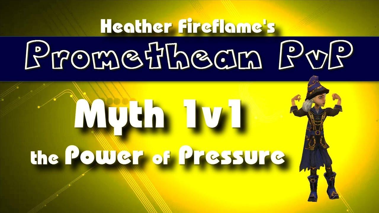 Wizard101 PVP: Myth 1v1 Promethean - the Power of Pressure in PvP