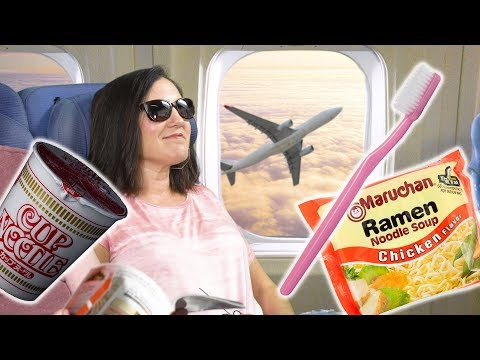 10 Airplane Travel Food and Beverage Hacks Explained | Food 101 | Well Done