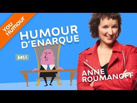 ANNE ROUMANOFF - Humour d'énarque