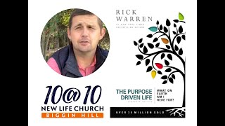 10@10 - The purpose driven life - Day 26 - Ben Holden