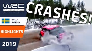 WRC - Rally Sweden 2019: CRASH SPECIAL