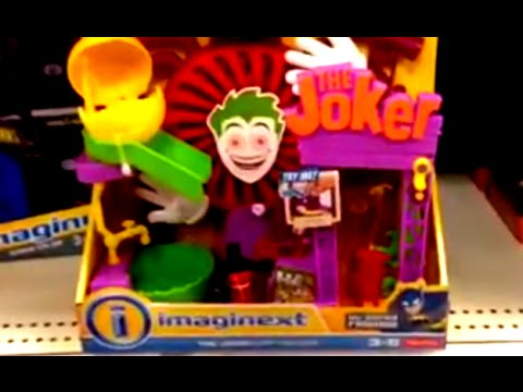 THE JOKER LAFF FACTORY [Laugh Factory] Imaginext with BATMAN & JOKER