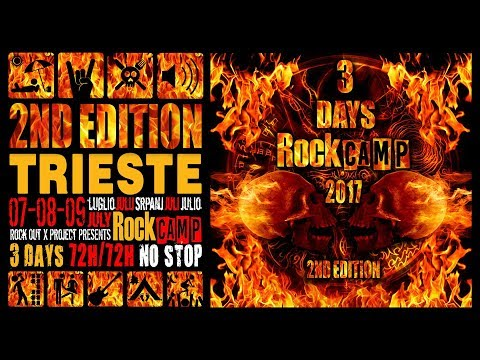 Rock Camp 2017 - Day 1 VLOG