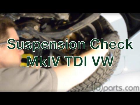 Suspension Check MkIV VW TDI