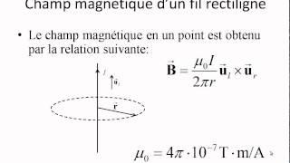 Caspule Électricité et magnétisme: Le champ magnétique d