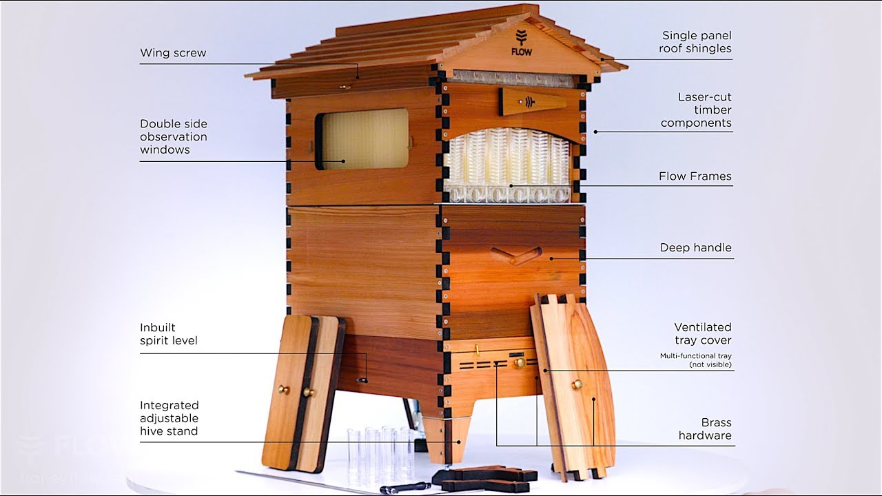 flow hive 2 walk through the features with cedar anderson youtube. Black Bedroom Furniture Sets. Home Design Ideas