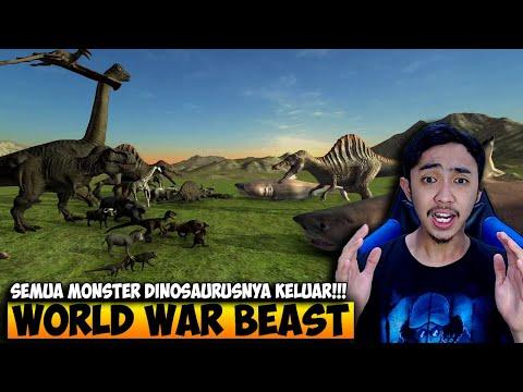 WORLD WAR BEAST MISI TERAKHIR SEMUA MONSTER KELUAR - BEAST BATTLE SIMULATOR INDONESIA #6 - 동영상