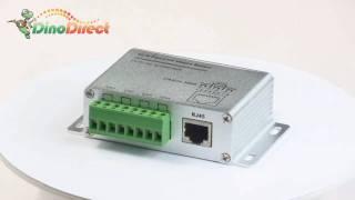 4 channel UTP passive video balun for surveillance camera,A204