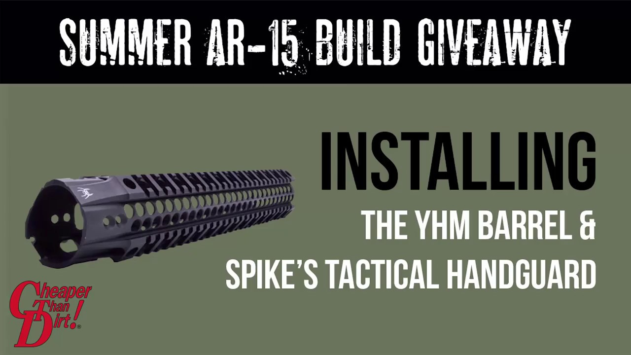 How To Build An Ar 15 Upper Assembly Youtube