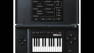 KORG DS-10 AIRWOLF THEME