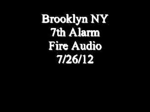 Brooklyn 7th Alarm Fire Audio 7/26/12