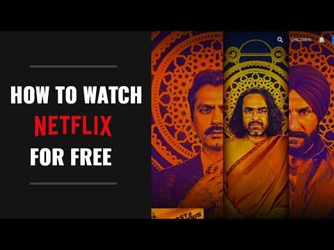 How to Watch Netflix for FREE 2019   NETFLIX.com