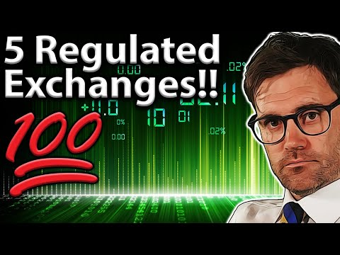Best REGULATED Crypto Exchanges: Top 5 Picks!! ✅