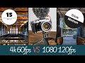 Fujifilm X-T3 Slow Motion - 4k 60fps VS 1080 120fps