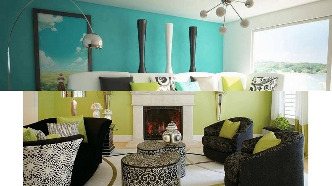 Lime Green Living Room Ideas