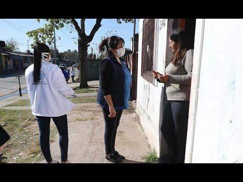 Gran operativo contra el dengue en barrio Santa Rita