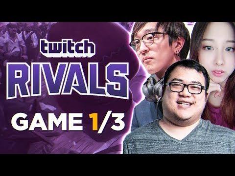 TWITCH RIVALS SHOWDOWN | Game 1/3 w/Boxbox, Locodoco, Starsmitten & Seanic