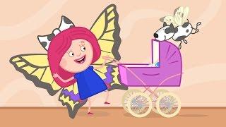 Смарта и Чудо-сумка - Крылья бабочки - Развивающие, обучающие мультики для детей, малышей