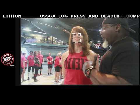 USSGA Log Press & Deadlift Championship Men's Deadlift
