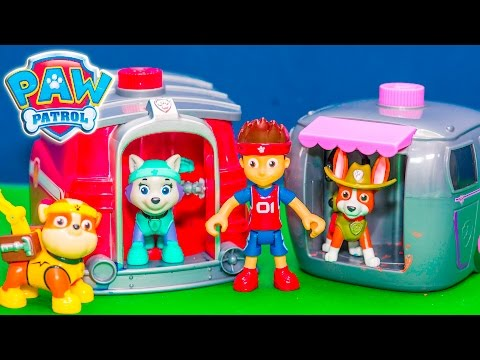 PAW PATROL Nickelodeon Paw Patrol Magical Allstars with the Assistant Funny Video
