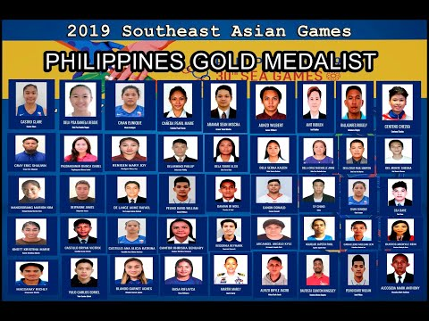 SEA GAMES 2019 PHILIPPINE GOLD MEDALIST KILALANIN