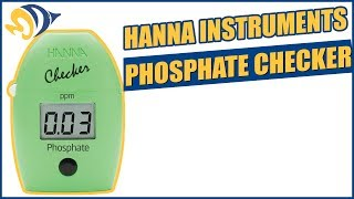 Hanna Instruments Phosphate Checker Product Demo