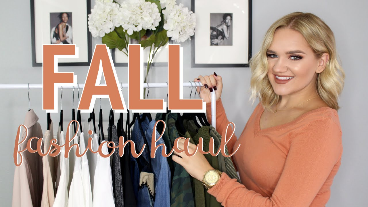 Fall Fashion Try On Haul Forever 21 Topshop Zara More