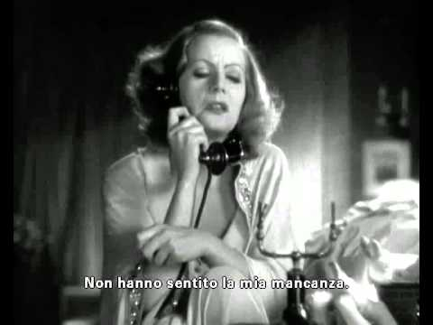 Greta Garbo I want to be alone Grand Hotel