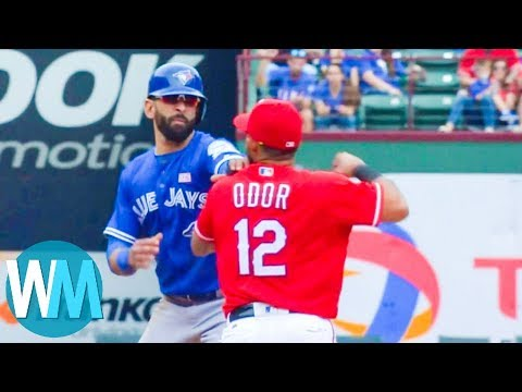 Top 10 Baseball Freak-Outs