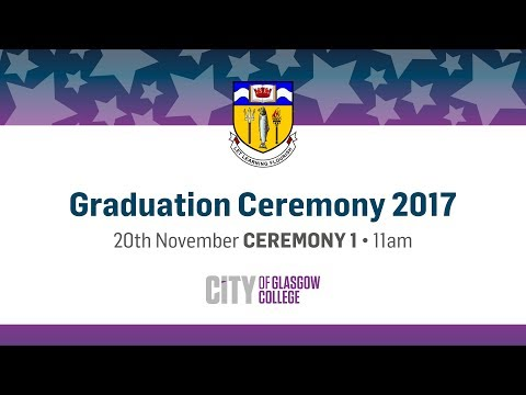 Winter Graduation Live - 20th November 2017 - Glasgow Royal Concert Hall