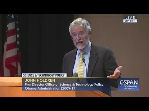 John Holdren on Trump Science Policy