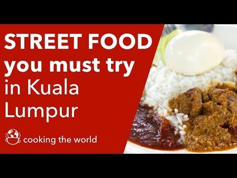 Street food you must try in Kuala Lumpur