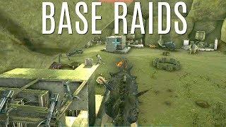 RAIDING HIDDEN BASES and REAPER Soaking - Official 6 Man Tribes (E20) - ARK Survival