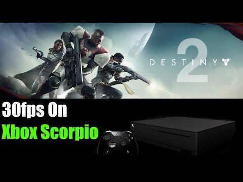 Destiny 2 Only 30fps On Xbox Scorpio Is Unacceptable!!