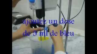 essai de bleu méthylene