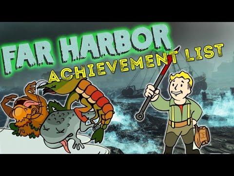 Fallout 4: Far Harbor Achievement List Leaks