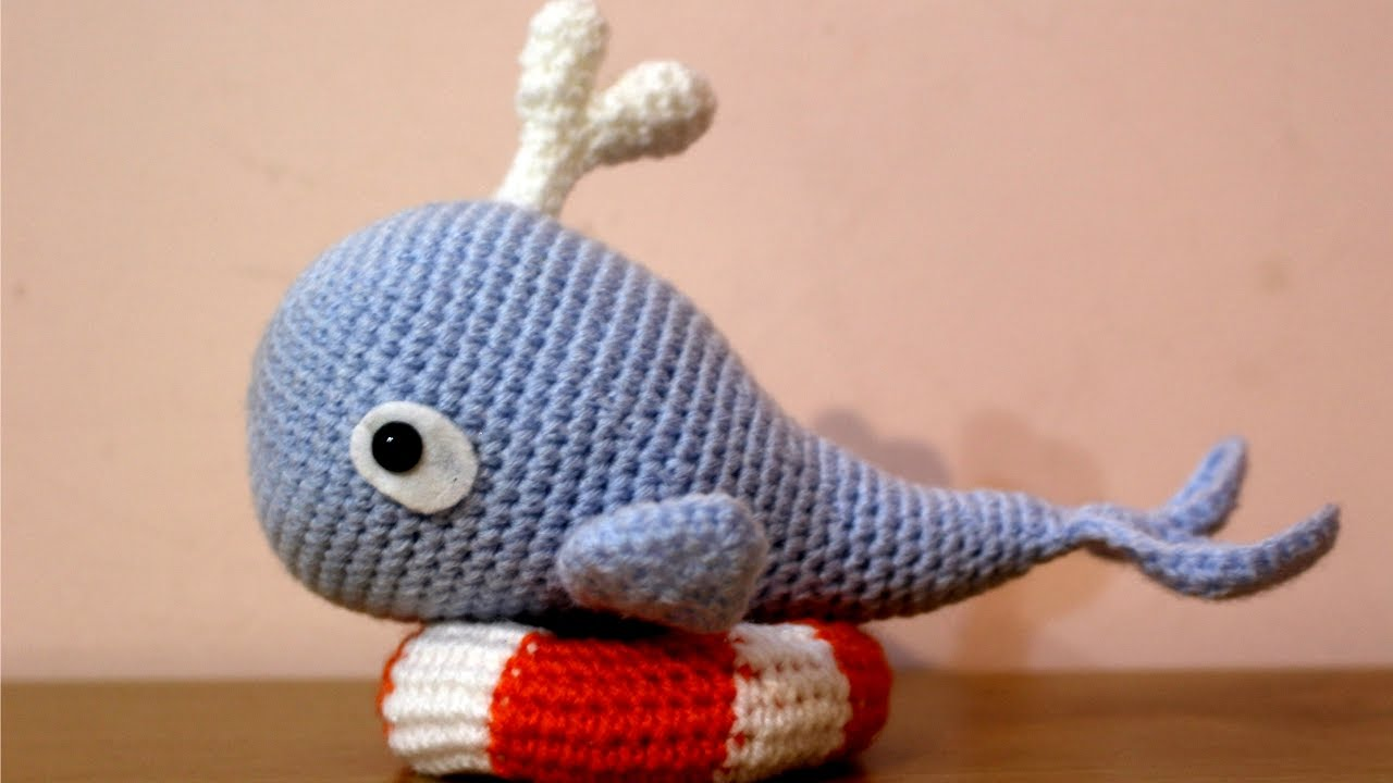 World Of Amigurumi : Balena con Salvagente Amigurumi World Of Amigurumi - YouTube