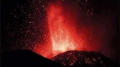 Ätna Ausbruch am 16.11.2013 - HD Aufnahme - Ätna spuckt Feuer