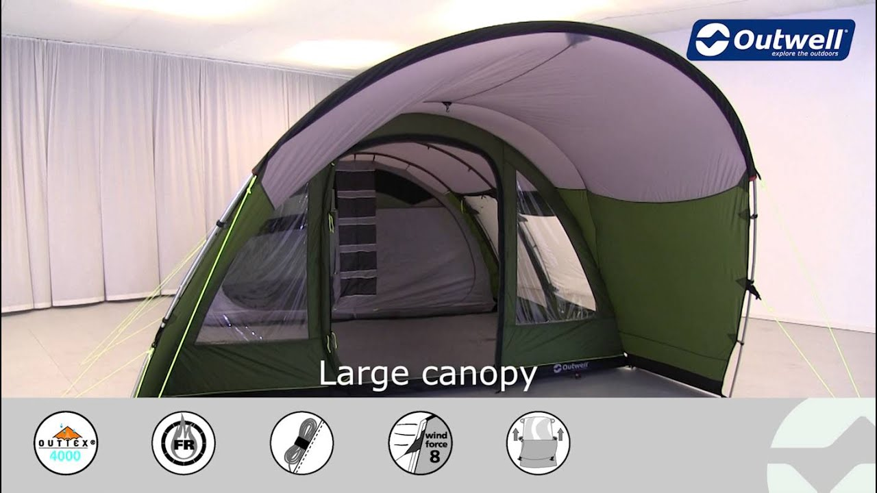 & Outwell Lakeside 600 Tent | Innovative Family Camping - YouTube