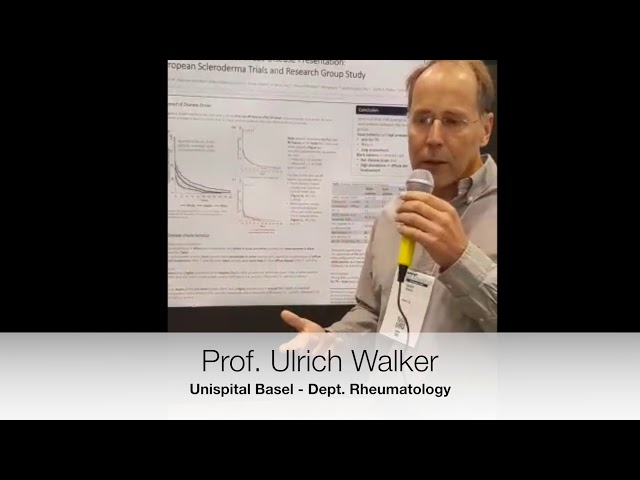 Prof. Ulrich Walker interviewed at ACR18 on racial differences in SSc an EUSTAR study.