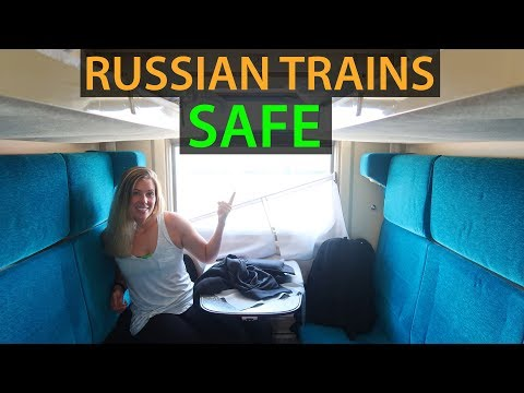 RUSSIAN TRAIN TRAVEL | Wagon Tour & How To Travel By Train!