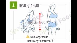 ТОП 10 лучших упражнений для похудения живота и боков. Фитнес. Бодибилдинг.