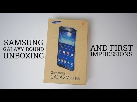 Samsung Galaxy Round Unboxing and First Impressions