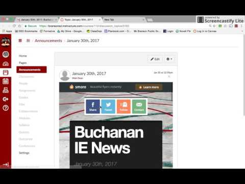 Buchanan Intermediate Newsletter Tutorial