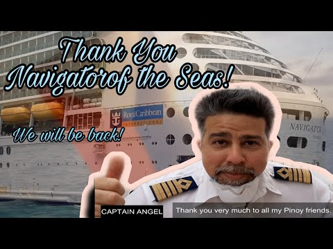 Seafarer's Farewell Video | Navigator Of The Seas | Filipino Sailors