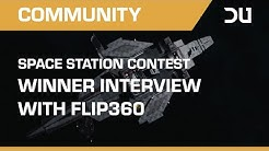 Dual Universe Interview With Space Station Contest Winner Flip360