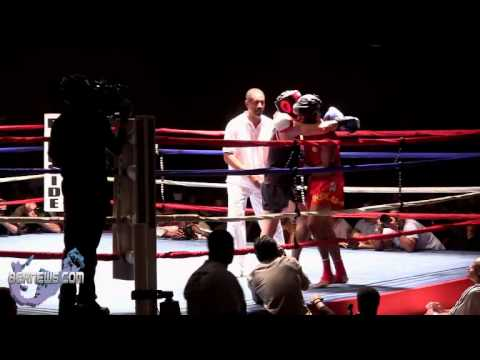 Sentwali Woolridge vs Daniel Kechecgo Rounds 2-5, Oct 13 2012